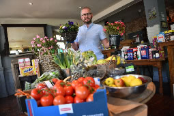 Local Pubs Turn Into Temporary Grocery Stores