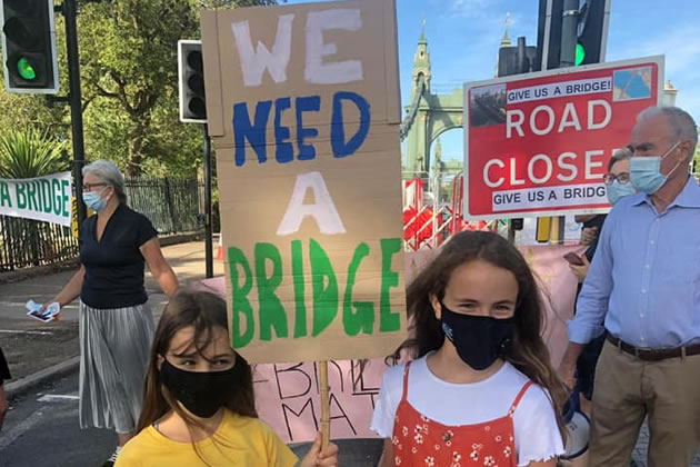 Over a Thousand Children Affected By Hammersmith Bridge Closure