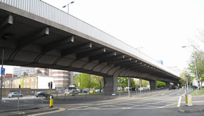 hammersmith flyover overnight closure