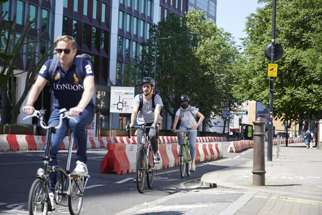 Council Mark Up More Than Two Miles of New Cycle Lanes