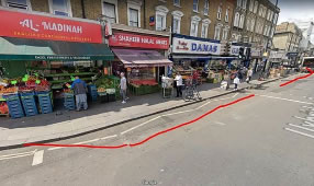 King Street and Uxbridge Road Pavements to Be Widened