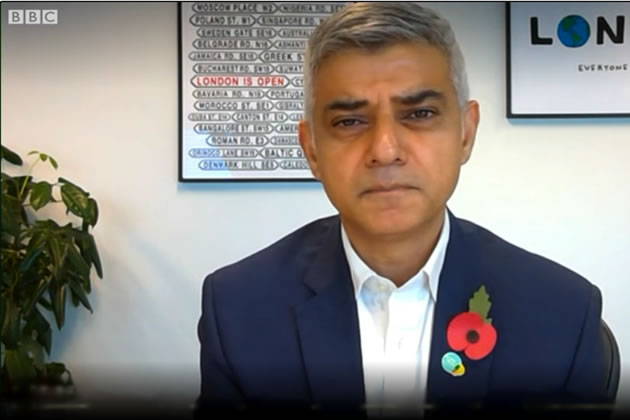 Sadiq Khan forced to make cuts to balance budget