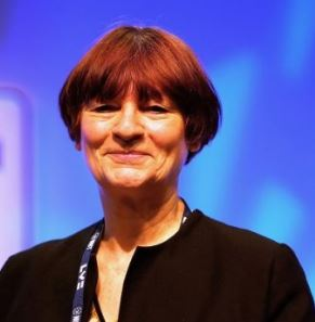 Christine Blower not Baroness of Starch Green