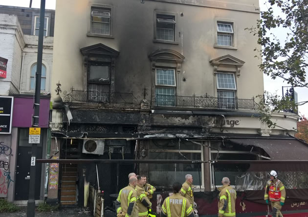 Fire Breaks Out At Goldhawk Road Shisha Bar