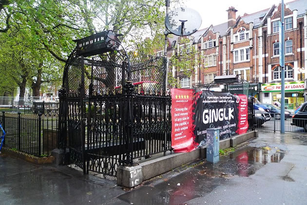 The former Ginglik on Shepherd's Bush Green