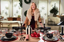 Laura Whitmore Launches Christmas Rental Store in Shepherd