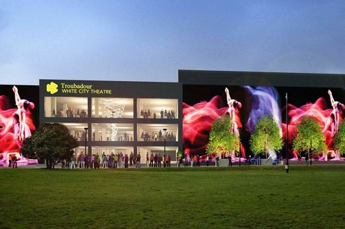 Troubador Theatre opening in White City in summer